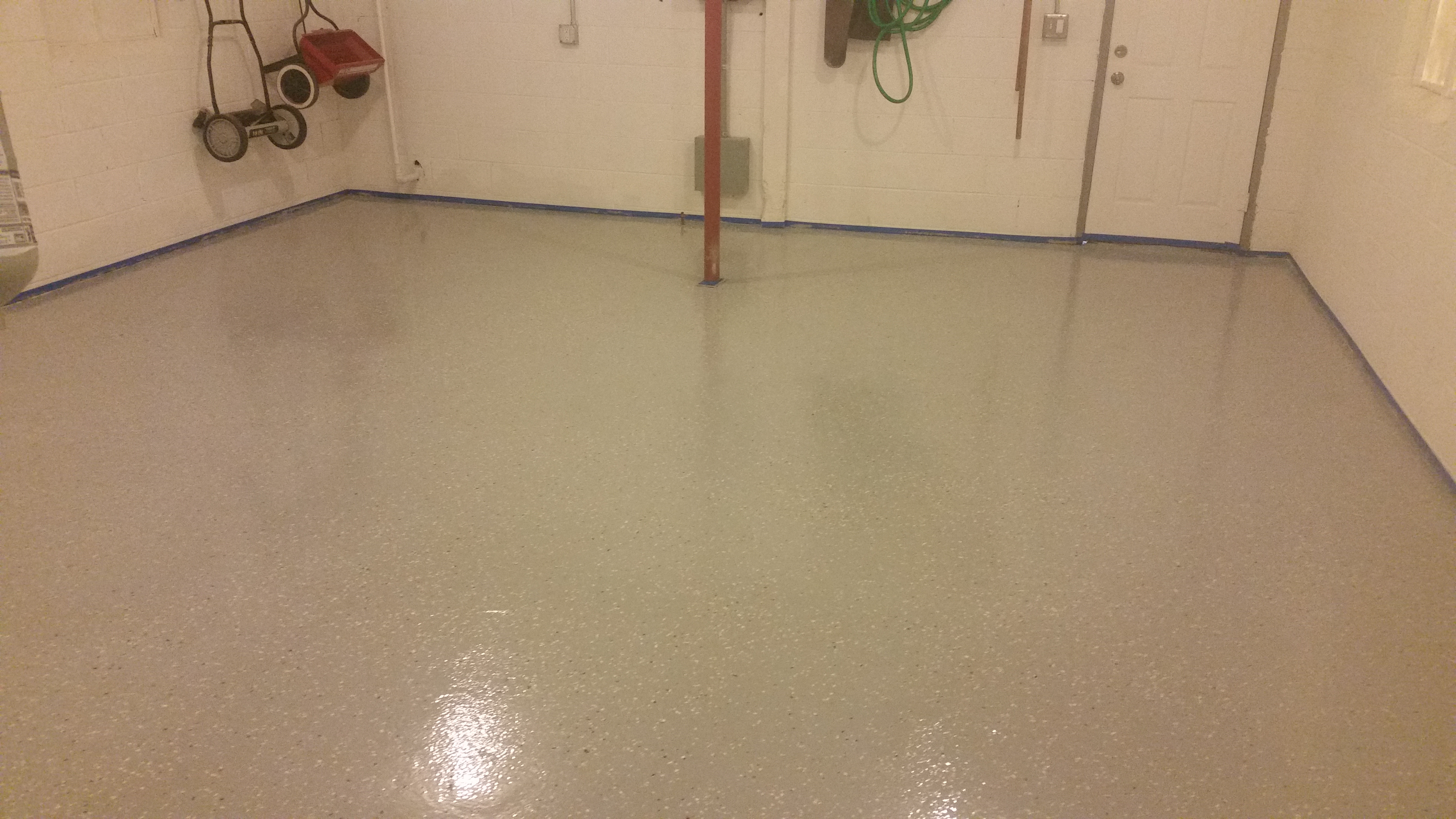 Stamped Concrete Garage Floor : Garage floors your indianapolis decorative concrete answer
