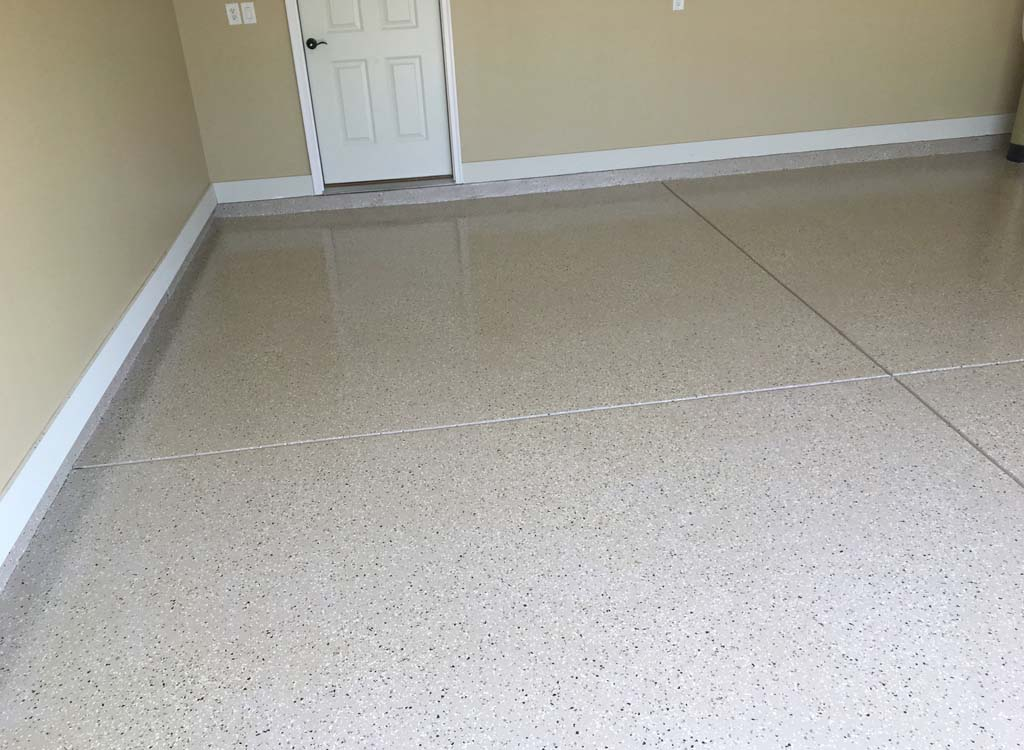 Custom Garage And Commercial Epoxy Floors Indy Decorative Concrete