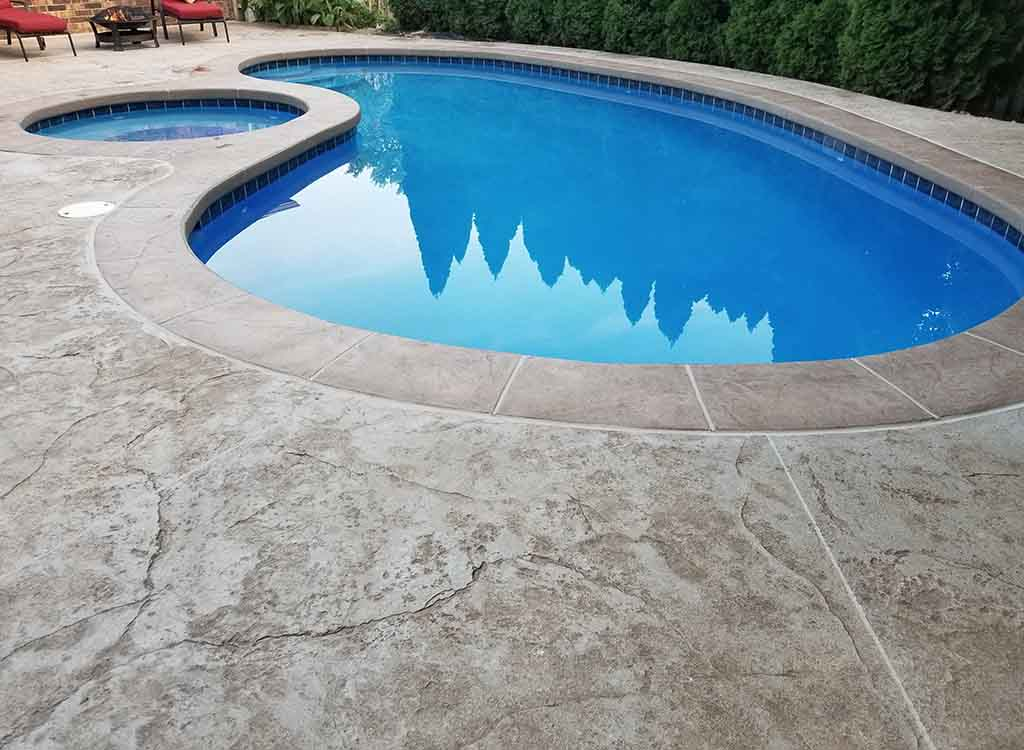 Exceptional Custom Concrete Pool Decks